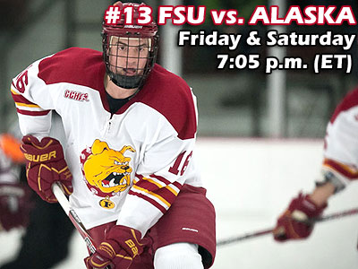 Series Notes: #13 FSU Hockey Hosts Alaska