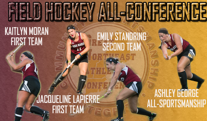 Four AMCATS Named to Field Hockey All-Conference Teams