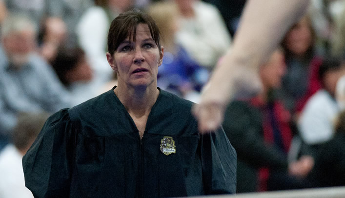 DeLisle Chosen WIAC Women's Gymnastics Coach of the Year