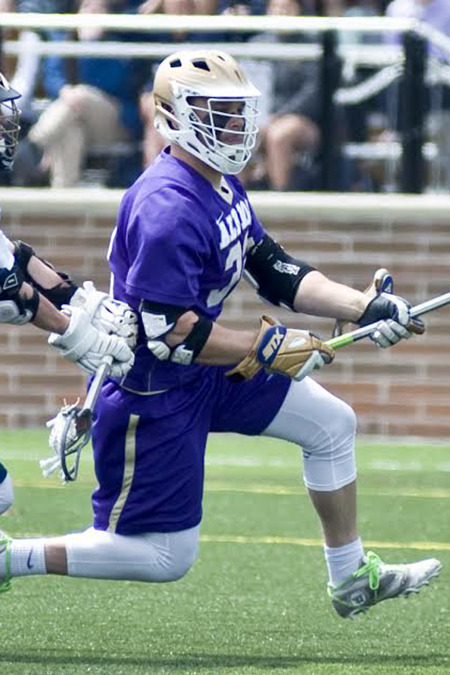 Kyle DeCamp, Albion, Men's Lacrosse Defensive Player of the Week 4/24/17