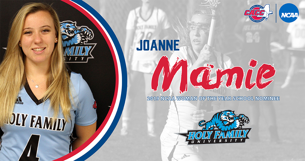 NCAA WOMAN OF THE YEAR NOMINEE: Joanne Mamie (Holy Family University)