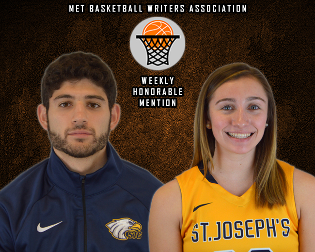 Basile and Signor Earn MBWA Weekly Honorable Mention Nods