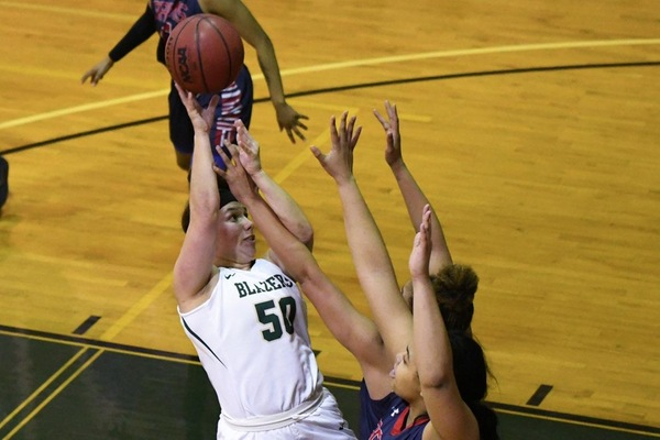 Women's Basketball Falls Short Against ENC, 56-53