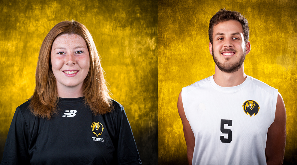 Watson and Diniz Named Conference Carolinas Scholar Athletes of the Year