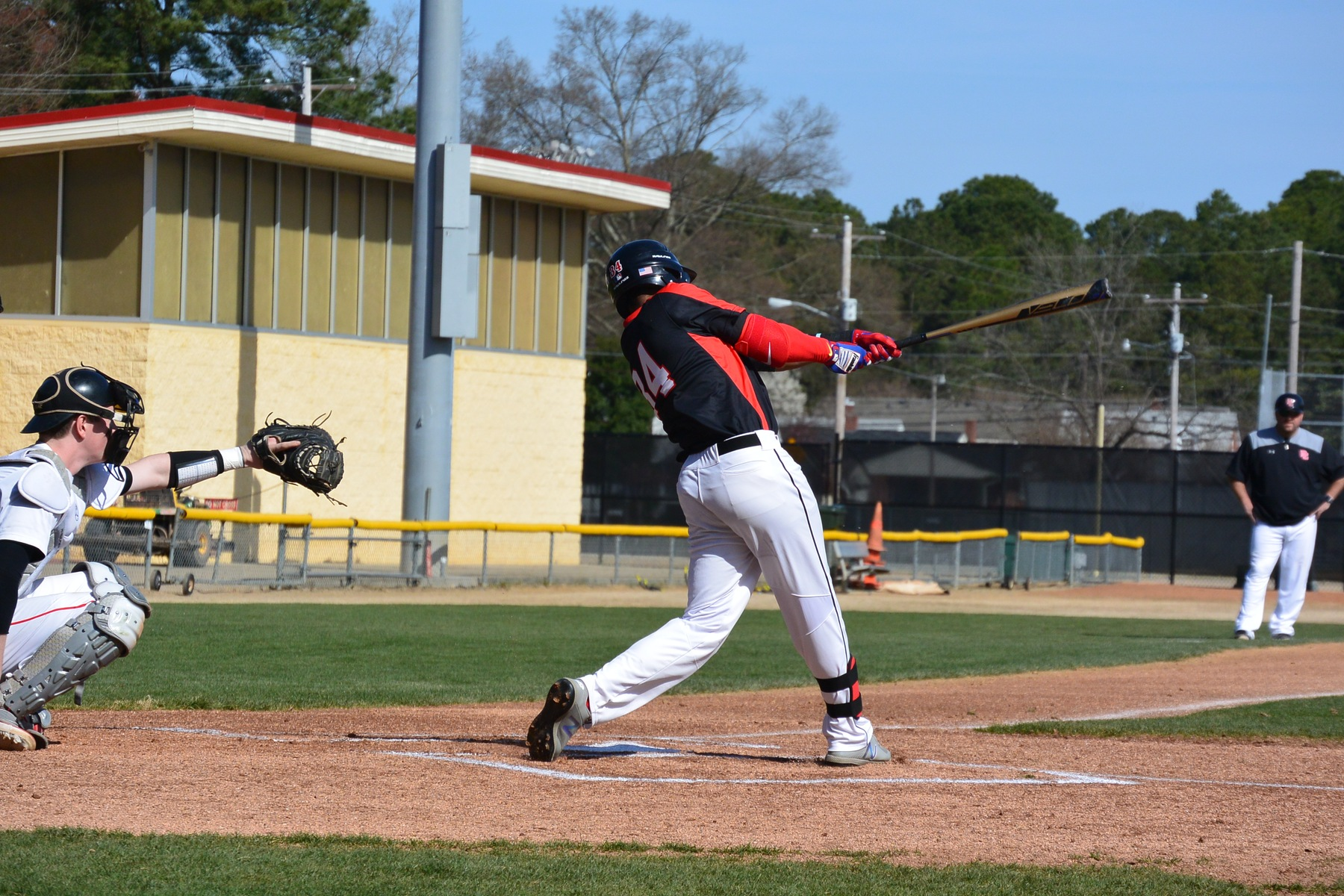 GOLDEN FALCONS TAKE TWO FROM BASEBALL