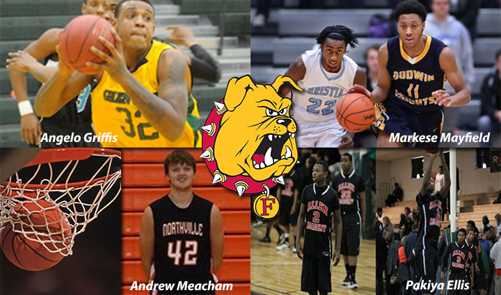 Ferris State Men's Basketball Lands Four Talented Additions On Spring Signing Day