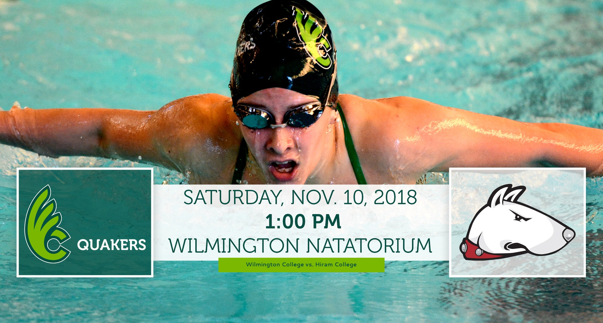 Women's Swimming Hosts Hiram in Dual Meet Saturday