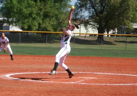 Softball Splits Season-Opener at Rebel Games