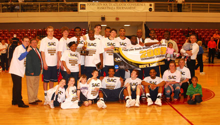Catawba Repeats As Food Lion SAC Men's Basketball Tournament Champions
