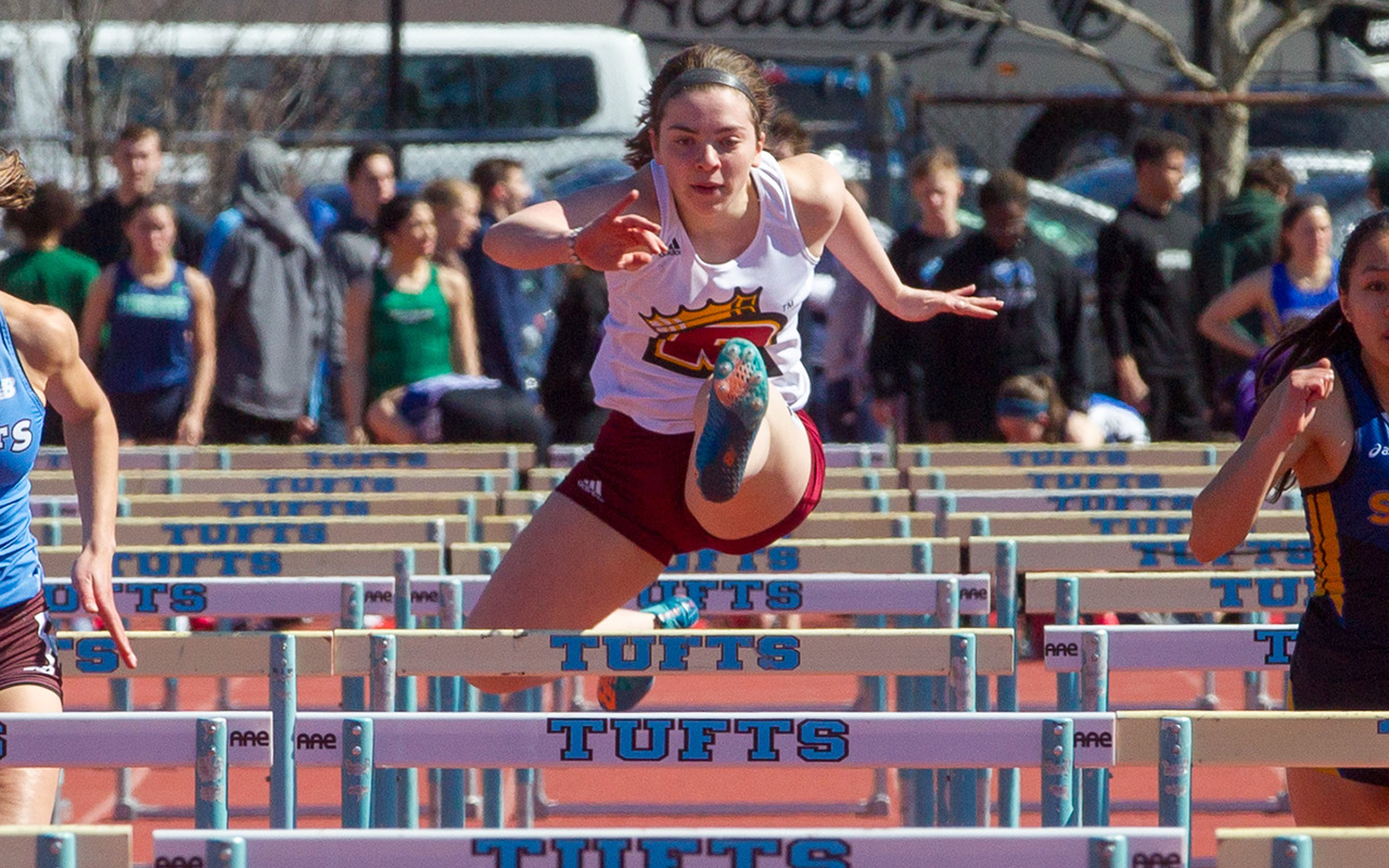 Track And Field Competes At ECSU Invitational
