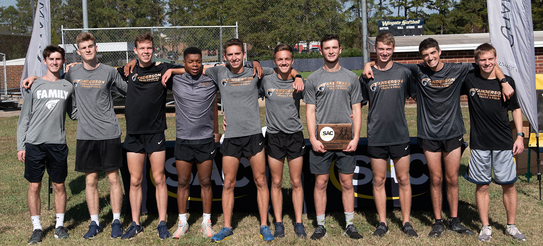Men's Cross Country Claims Second Place at 2019 SAC Championships