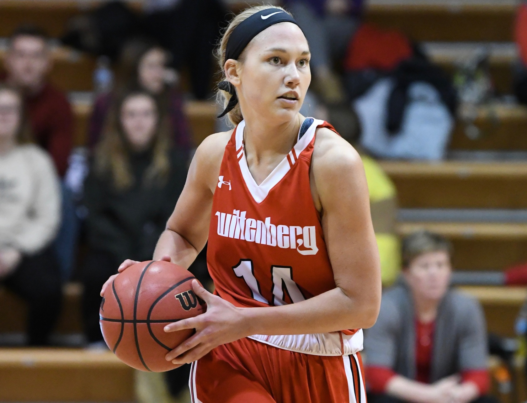 Junior Riley Culver finished one rebound shy of a double-double in Wittenberg's 76-57 at Ohio Wesleyan