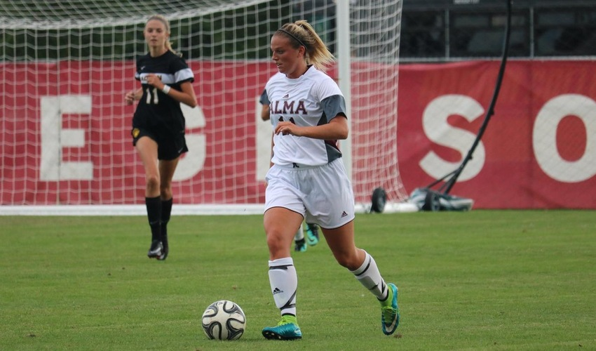 Women's soccer stopped late by Adrian