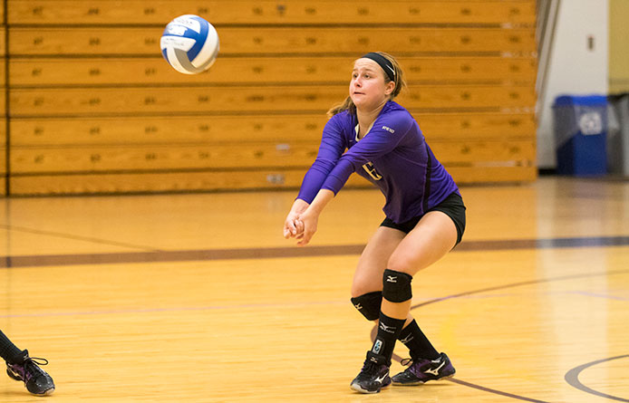 Women's Volleyball Downed in NE10 Play at Southern New Hampshire