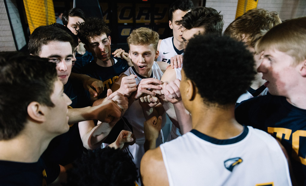 Emory Men's Basketball Tangles With UW-Oshkosh In NCAA Tourney Round Of 16