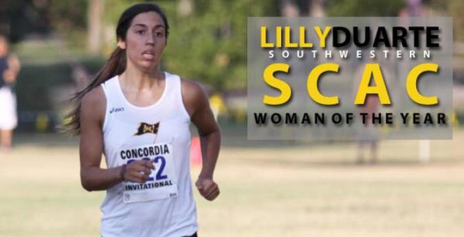 Duarte earns share of SCAC Woman of the Year honor