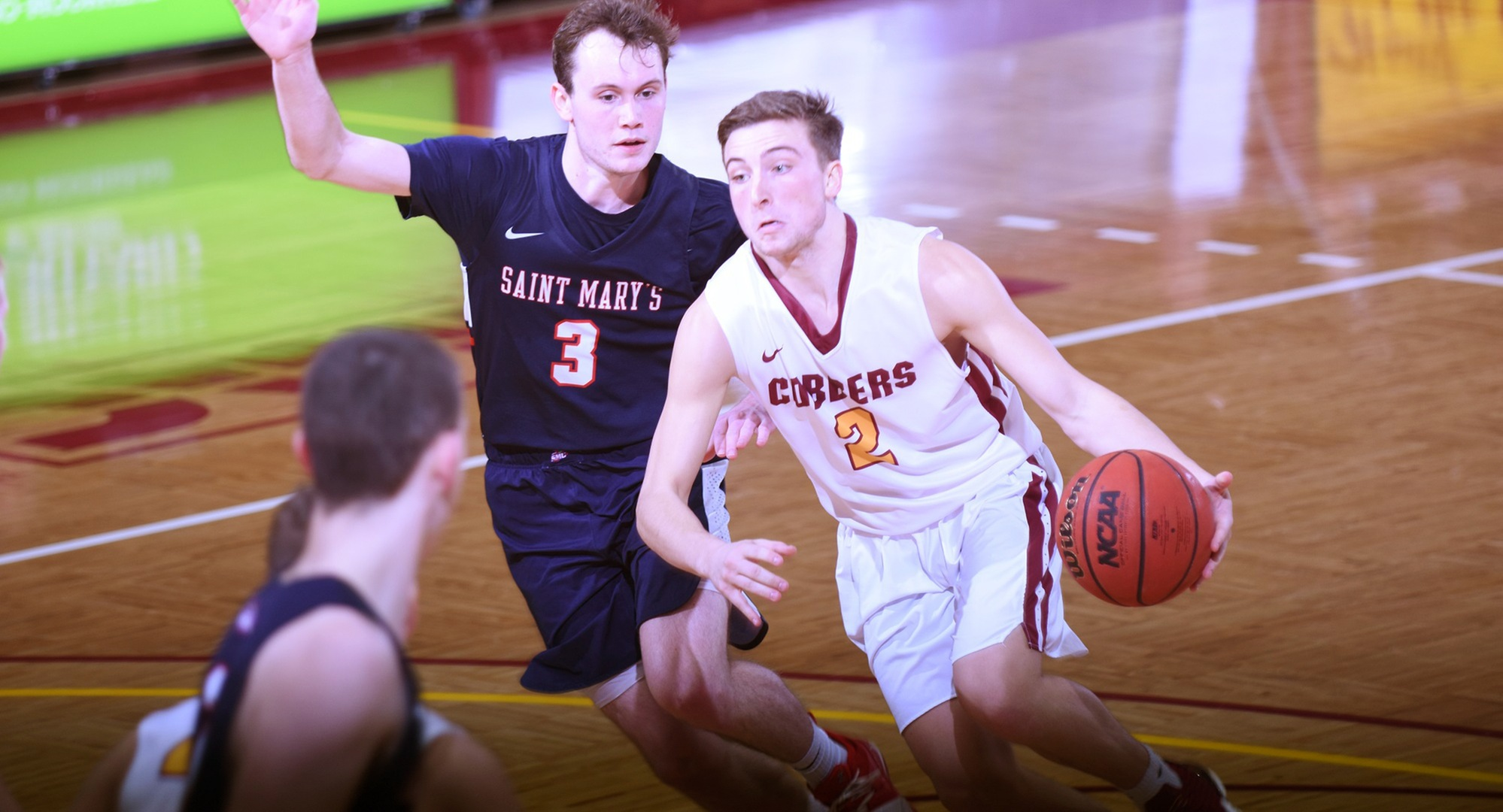 Junior Bryden Urie had a game-high 18 points in the Cobbers' conference road game at St. Mary's.