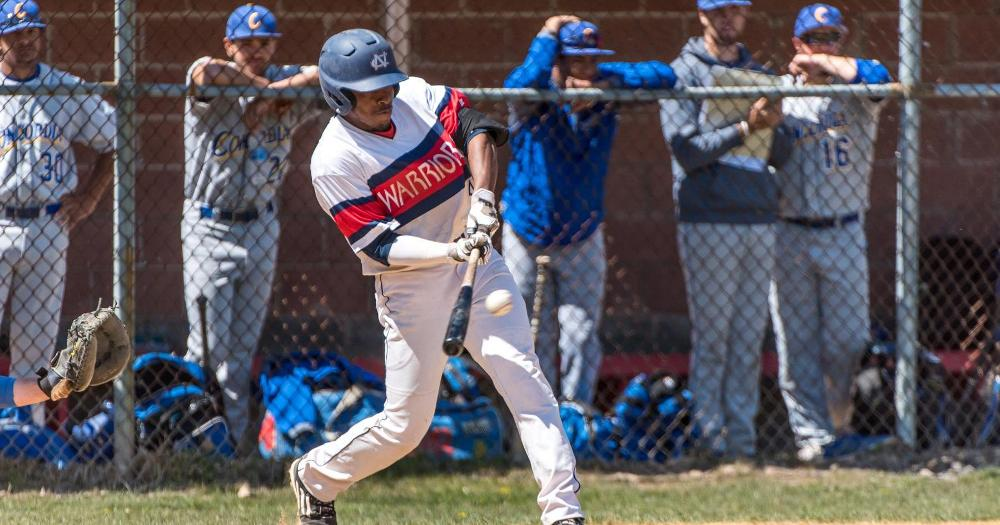 Baseball Earns Split with Uscience 2-3, 9-5