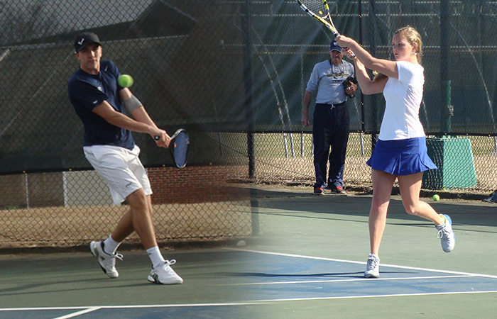 USC Aiken Shows No Love To GSW Tennis