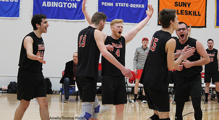 Men's Volleyball Sweeps Keuka In Home-Opener Match