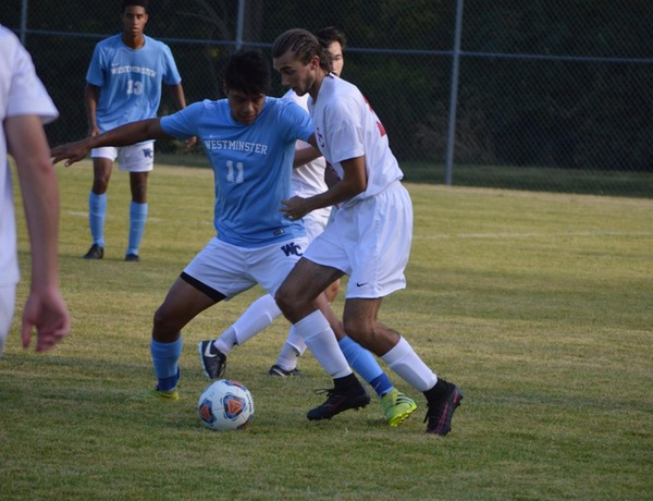 Westminster Men's Soccer Falls Short at Wisconsin-Whitewater