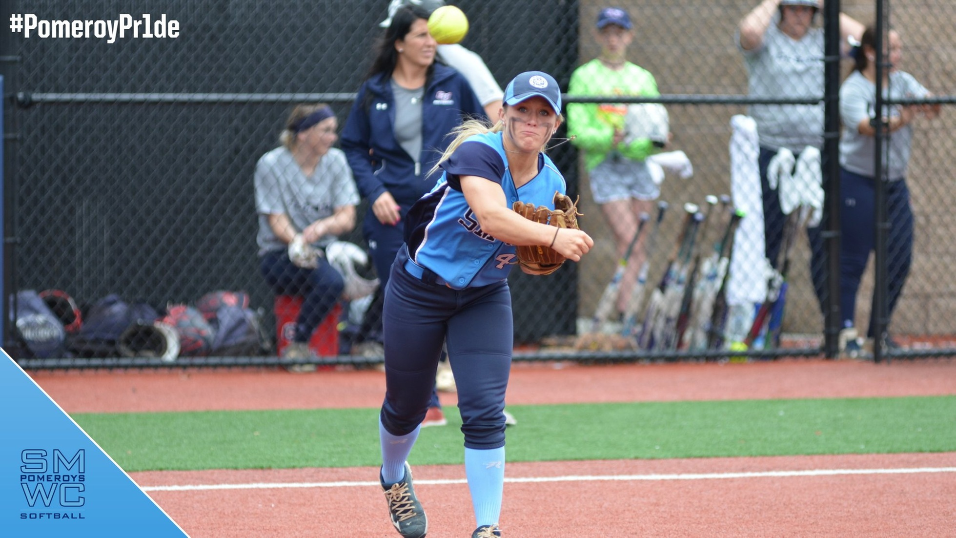 SMWC Softball Concludes Spring Training; Pomeroys Defeated By LTU & CUAA