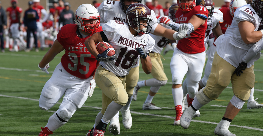 Mounties Lose to Acadia
