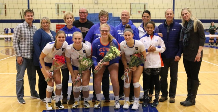 Falcons lock up No. 2 seed on Senior Day