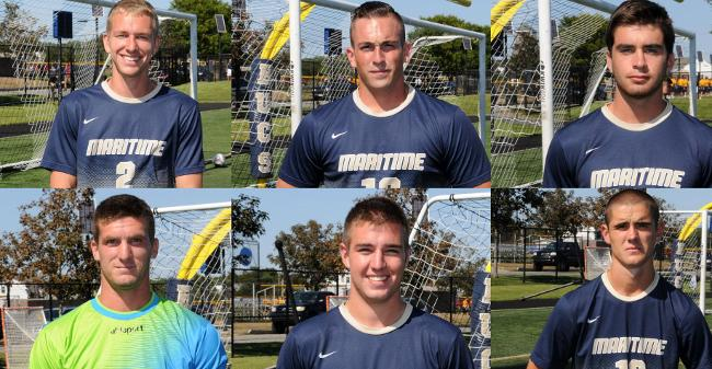 Record Six Buccaneers Earn Respective Spots On 2016 MASCAC Men's Soccer All-Conference Squad