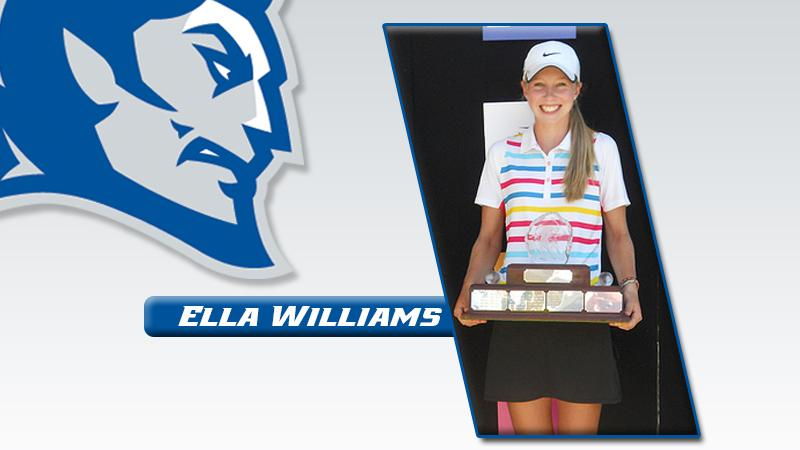 Women's Golf's Williams 5th in Tourney