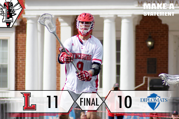 Dramatic Comeback Lifts Men's Lacrosse Over Diplomats, 11-10