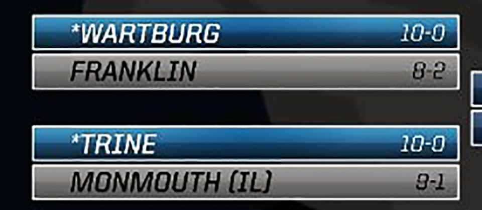 RELEASE | Franklin to Face Wartburg in Opening Round of D-III Playoffs