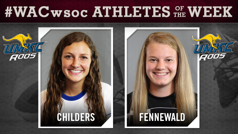 WAC Women's Soccer Players of the Week Announced