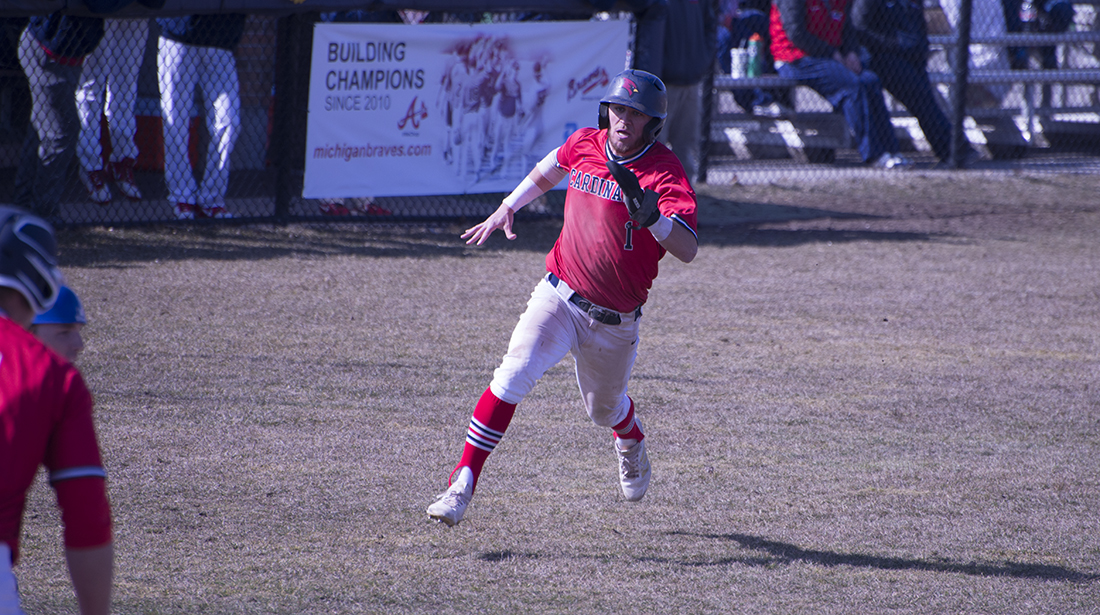 Cardinals post Friday sweep over GVSU in league action