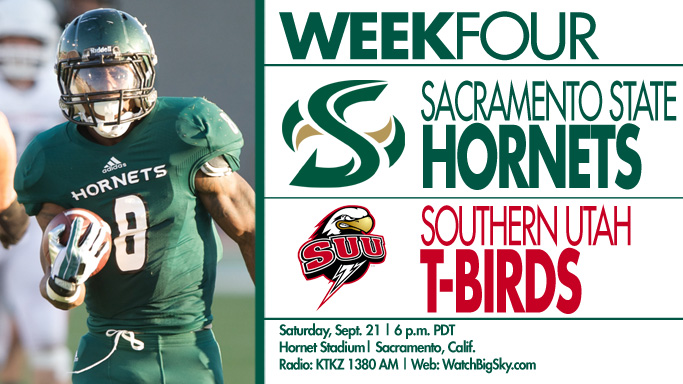 FOOTBALL CONTINUES HOMESTAND AGAINST SOUTHERN UTAH ON SATURDAY