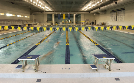UMW Swim Teams Off  To Dominant Starts at CAC Championships