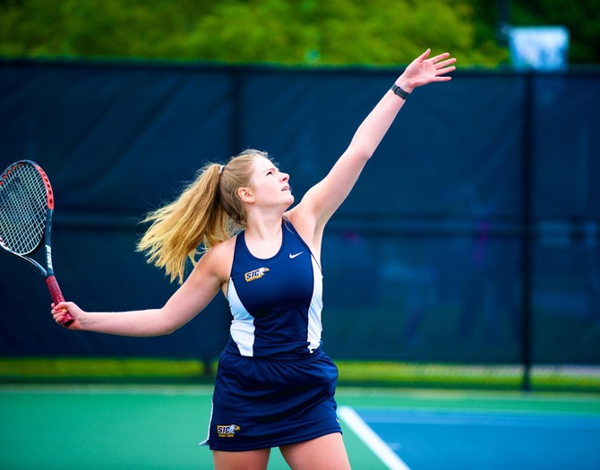 Women's Tennis Topped by Plattsburgh