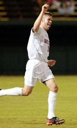 Men's Soccer Finishes in Double Overtime Tie with Stanford