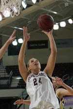 Women's Hoops Tops UC Davis by 48