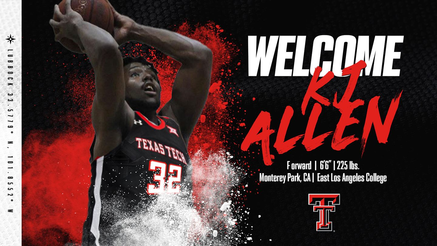 KJ Allen signs NLI with Texas Tech.