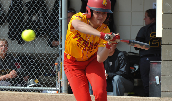Late Rally Falls Short For Ferris State In Wednesday League Home Contest