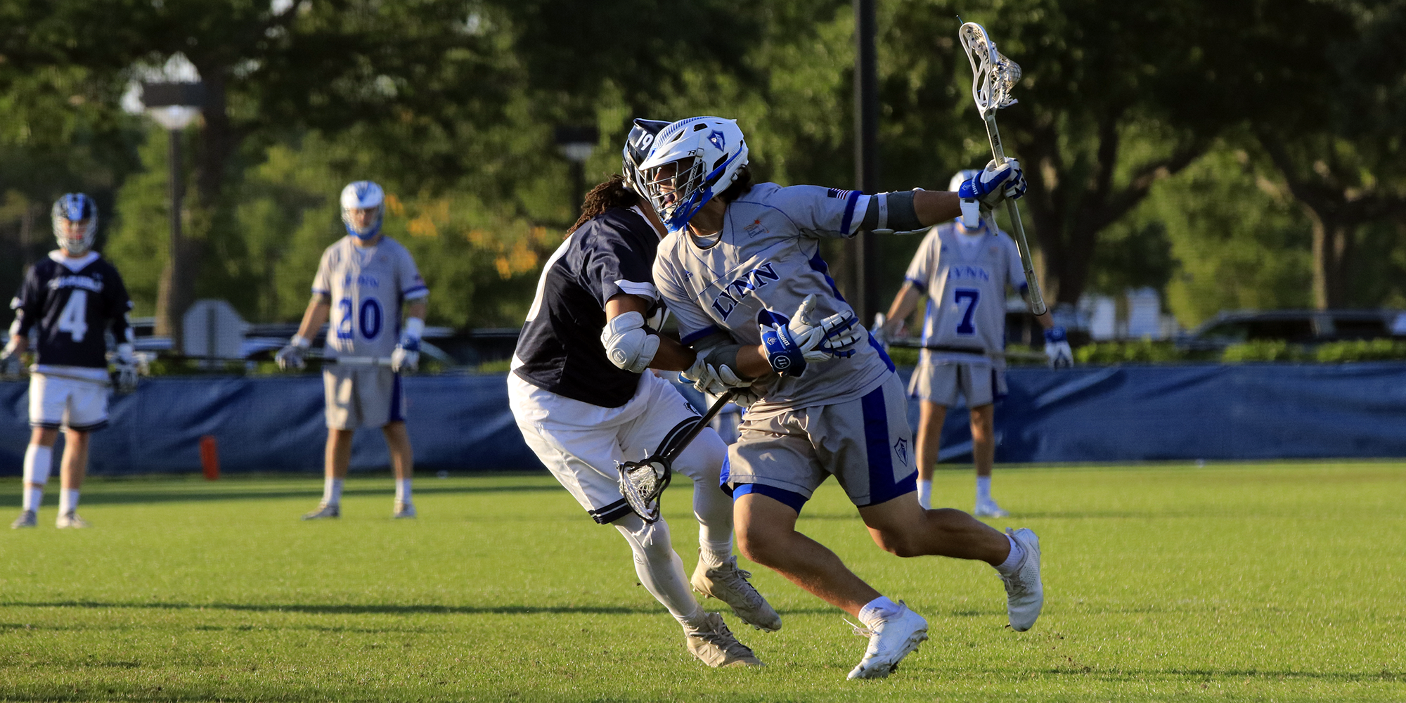 Men's Lacrosse Caps Nonconference Play with Regional Win