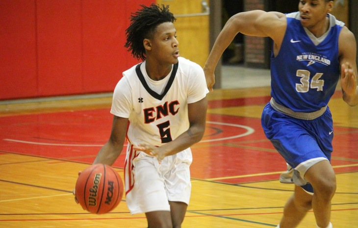 Men's Basketball Stymied at Endicott Saturday