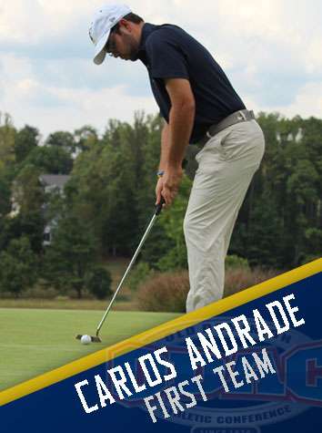 Carlos Andrade Named To The All-ODAC Men's Golf First Team