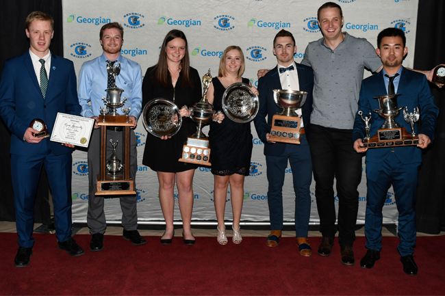 48TH ANNUAL GEORGIAN COLLEGE VARSITY AWARDS WINNERS