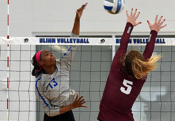 Blinn Volleyball Players Shelton And Scott Earn NJCAA All-America Honors