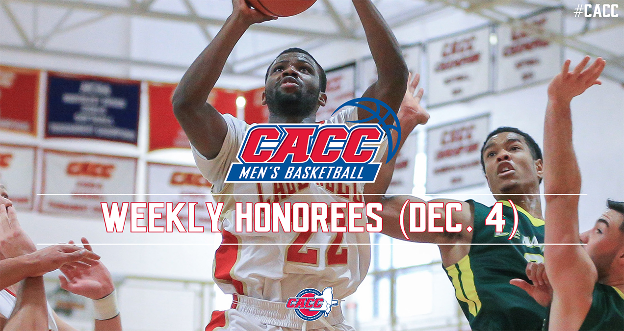 CACC Men's Basketball Weekly Honorees (Dec. 4)