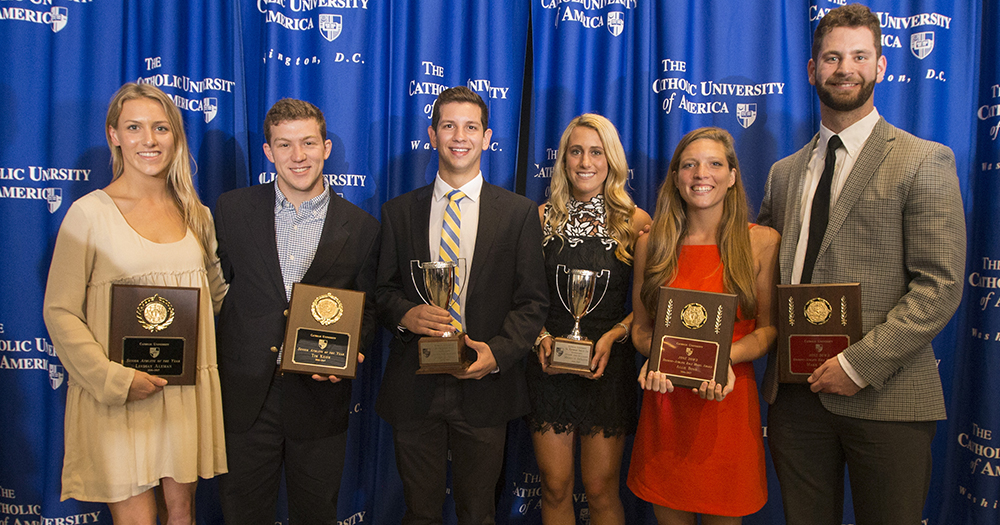 Catholic Athletics Major Awards Presented at Senior Celebration