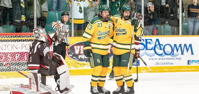 Clarkson displays balanced offense in win over Brown