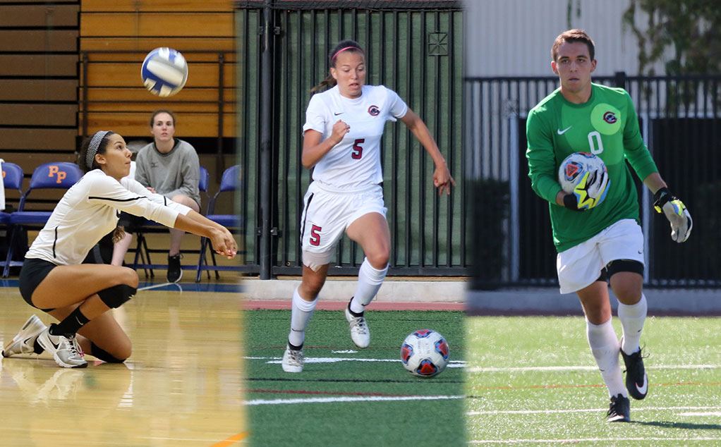 Trio of Panthers named SCIAC Athletes of the Week